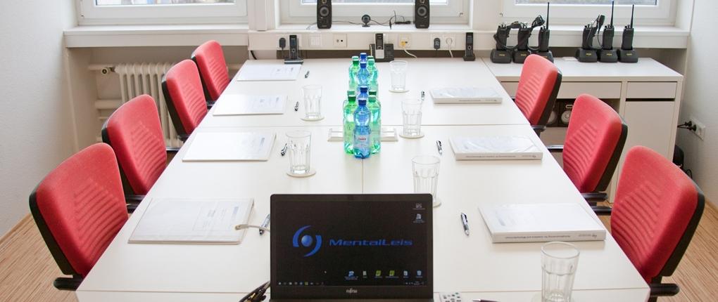 Schulungsraum der MentalLeis Dienstleistungen GmbH
