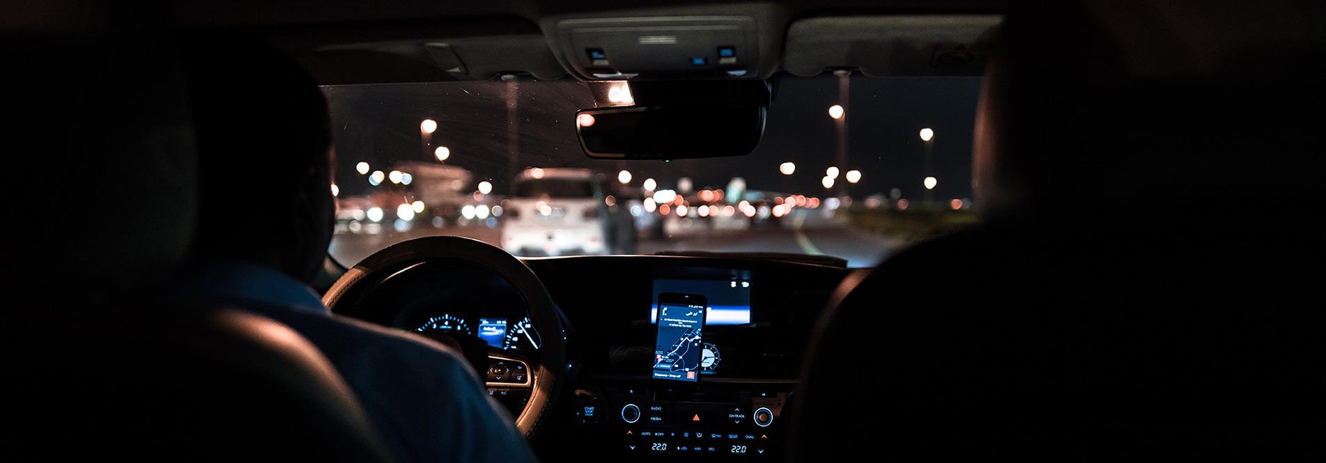 Sicherheit für Vorstandsfahrer